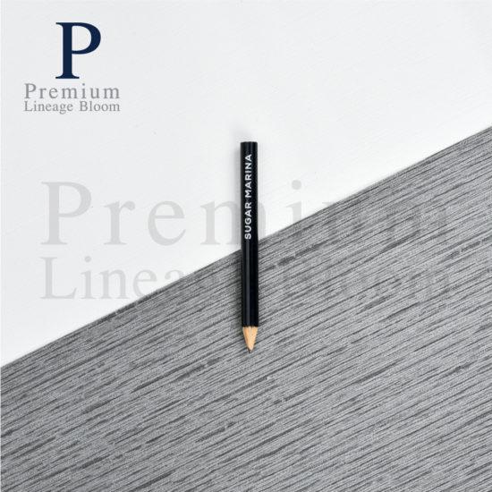 ดินสอไม้ โลโก้ Sugar Marina